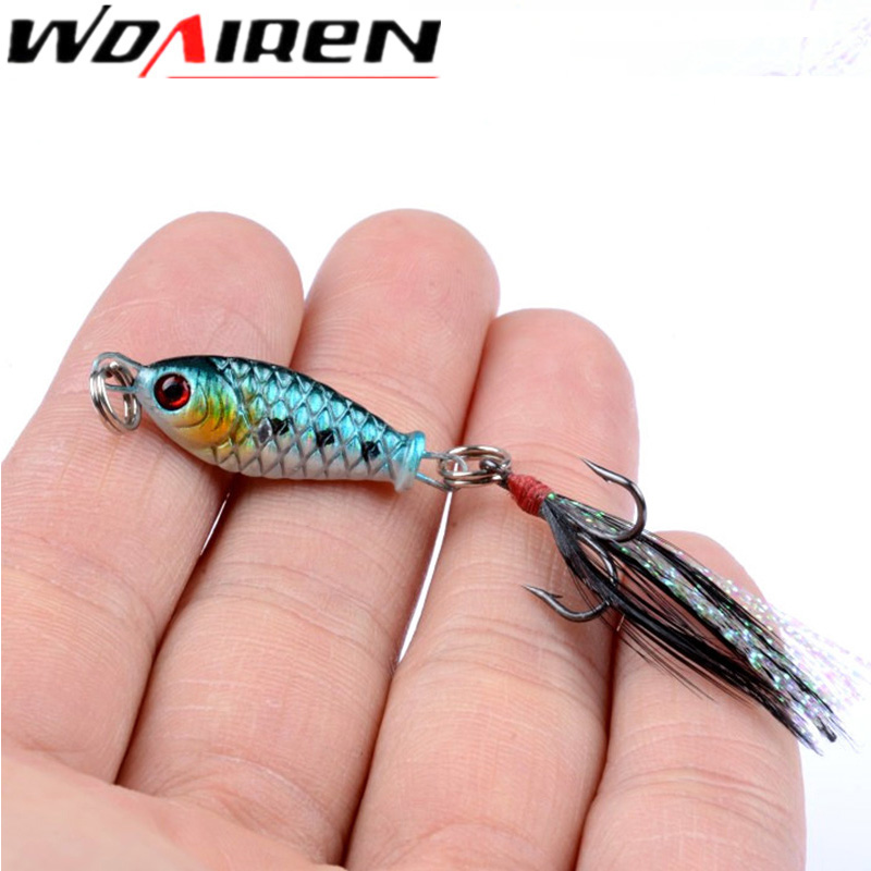 1Pcs Spoon Lure 4.5g Metal Fishing Bait 4color Spoon Bass Baits Sequin isca Artificial Feather Hook Fishing Tackle pesca Pike
