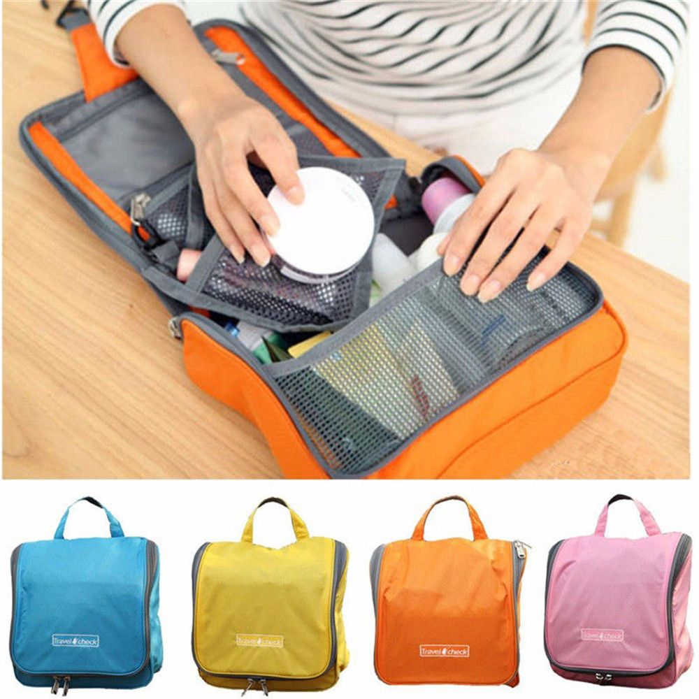 d4ff1efa13e Cosmetic bags Toilet Kit   Wash bag Make up Bags Hanging Purse Storage  Sorting bags in bar Travel Cosmetic Cases
