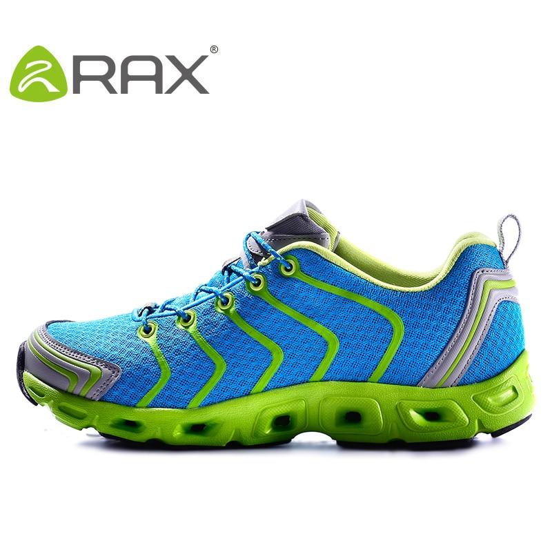 Rax New Outdoor Breathable Quick-Drying Hiking Shoes Men Summer Outdoor Lightweight Trekking Shoes Men Walking Fishing Shoes Men
