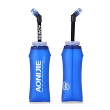 350ml/600ml Sports Soft TPU Water Bags Bottles Foldable Drink Outdoor Camping Cycling Running Hydration Bottle