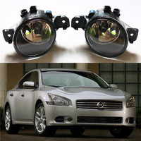 For NNISSAN Maxima 2009 2014 Car Styling Fog Lamps Front Bumper Halogen Lights 1set
