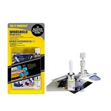Kit de réparation de pare brise de voiture, outils de réparation de pare brise Automobile (autocollants de protection de poignée de porte)
