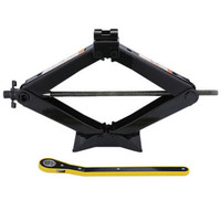 Foldable Car Jack Hand operated Horizontal Type Car Jack 1.5 Ton Tire Installation Wrench Kit Auto Auto Car Floor lift
