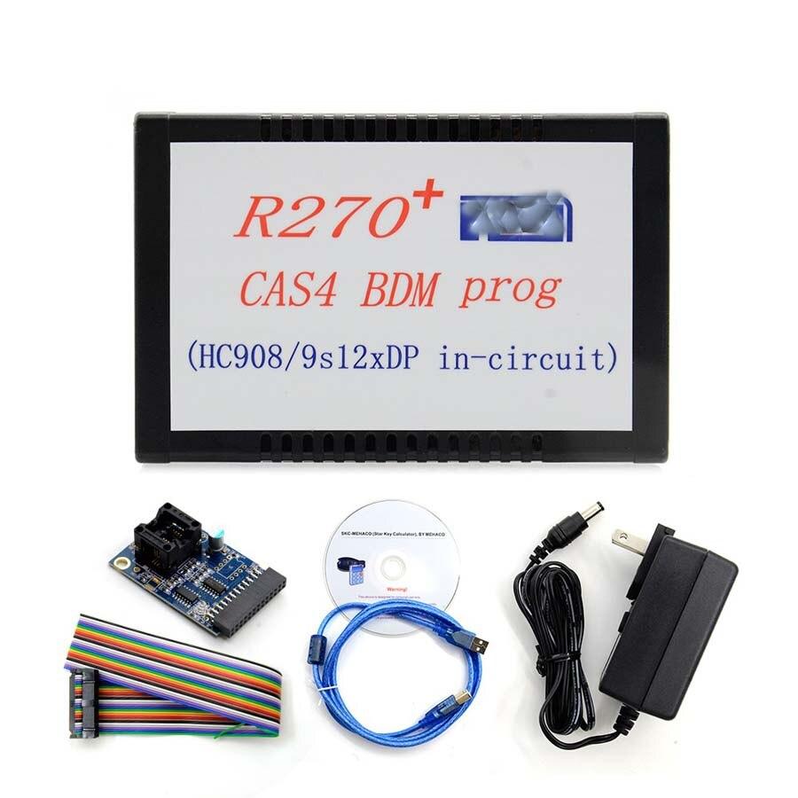 R270 + V1.20 BDM Programmeur Pour BMW CAS4 Kilométrage Correction Outil de Soutien pour la nouvelle 2009 7 Série (F01 /F02) CAS4 Odomètre