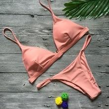 LASPERAL Sexy Solid Top String Micro Bikini LI01