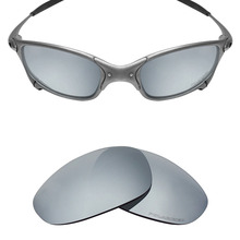 ФОТО mryok+ polarized resist seawater replacement lenses for oakley juliet sunglasses silver titanium