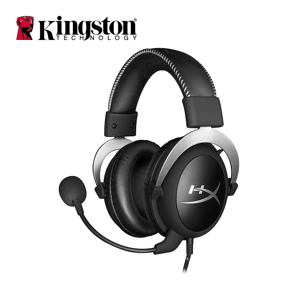 Kingston Hyperx HX HSCL SR 3 5mm Cloud Sliver Professional Esport Gaming Stereo Headset Noise Cancelling