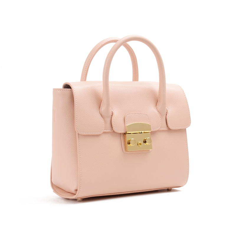 Simple Totes Bags For Women 2018 High Quality Pink Leather Luxury Handbags Women Bags Designer Crossbody Bags Bolsa Feminina NEW new luxury handbags women bags designer trapezoid caviar split leather fashion vintage crossbody bags for women bolsa feminina