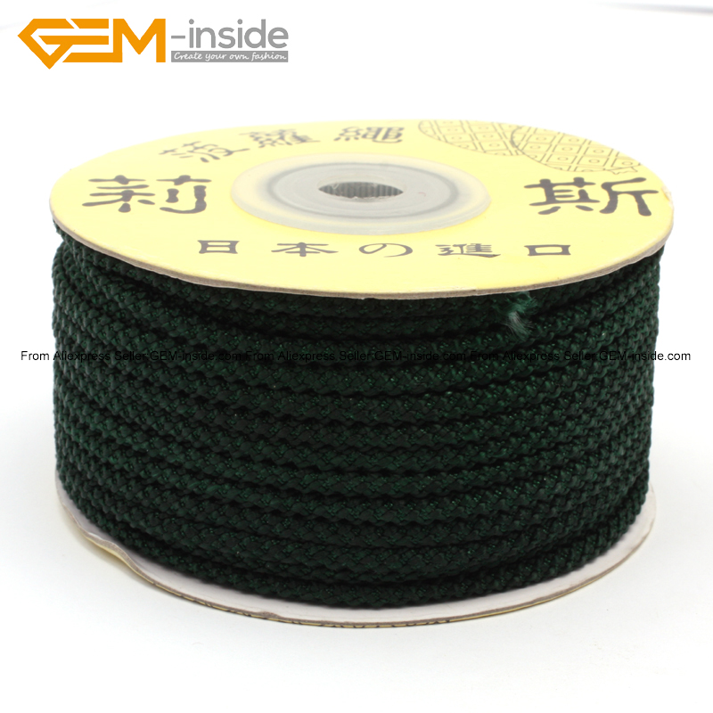 25 Meters Nylon Handcraft Braid Pineapple Cord Jewelry Threa Jewelry Findings Beading Cord Fashion Jewelry Diy Making Wholesale
