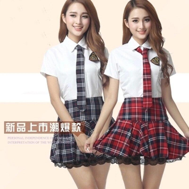 Online Get Cheap Plaid Uniform Skirts for Girls -Aliexpress.com ...