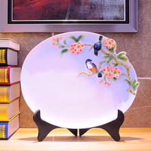 Ceramic fruit plate decoration fashion home fashion luxury rustic living room coffee table modern decoration plate