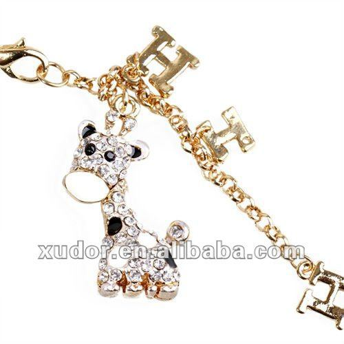 20pcs/lot Giraffe Animal cell phone Strap/Charm,mobile phone strap/charm FREE Shipping 5596