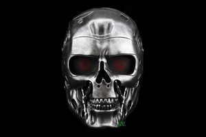 Image 1 - Terminator Skull Airsoft Full Face Helmet Mask Horror CS Halloween Protective Masquerade Party Cosplay Outdoor Props Resin Masks