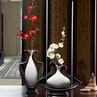Creative Ceramic Vase for Flower Handmade Flower Vases for Homes Vase for Wedding Decoration Ev Dekorasyon Aksesuarlar Teraryum