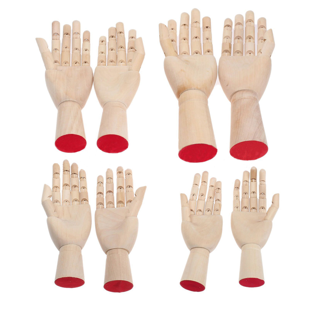 Wooden Hand Models 1