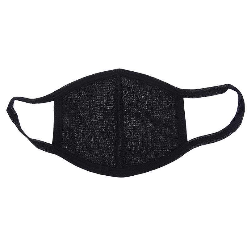 Men's Accessories Men's Masks Face Mask Cotton Mouth Mask Black Anti Haze Dust Masks Filter Windproof Mouth-muffle Bacteria Flu Fabric Cloth Respirator &2