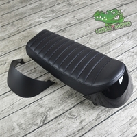 Black Hump Seat with indigo End 660mm Cafe Racer Motorcycle custom Seat Custom For Refit retro motorcycle tail