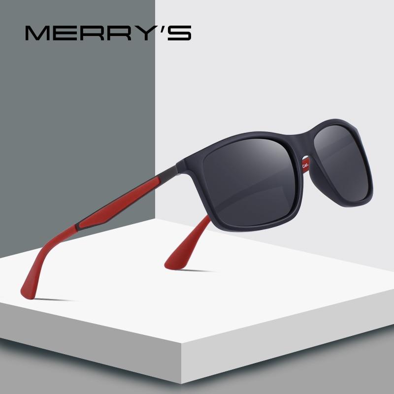 MERRY'S DESIGN Men Classic Polarized Sunglasses TR90 Legs Outdoor Sports Ultra-light Series 100% UV Protection S'8161