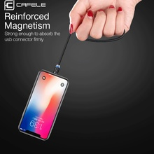 New LED Magnetic USB Cable for iPhone Micro USB Cable USB C Magnet Charger