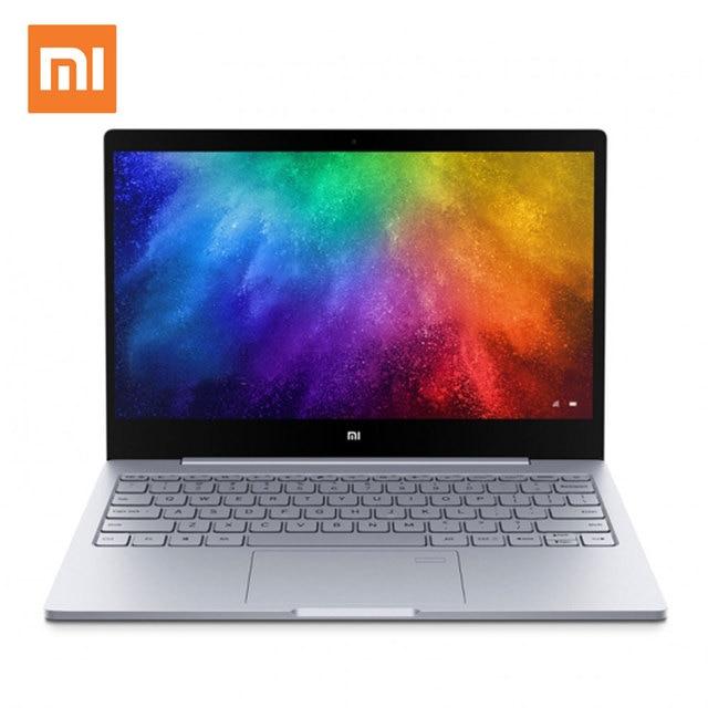 Xiaomi Notebook Air 13,3 pulgadas reconocimiento de la huella digital de Intel Core i7-7500 i5-7200 8 GB 256 GB SSD Windows 10 Ultrabook Laptop