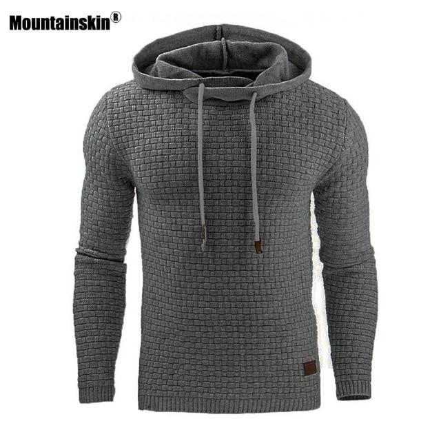 Mountainskin 5XL Hoodies Men Hoody Male Long Sleeve Solid Color Hooded Men's Sweatshirt Mens Hoodie Tracksuit Casual Coat SA437 1