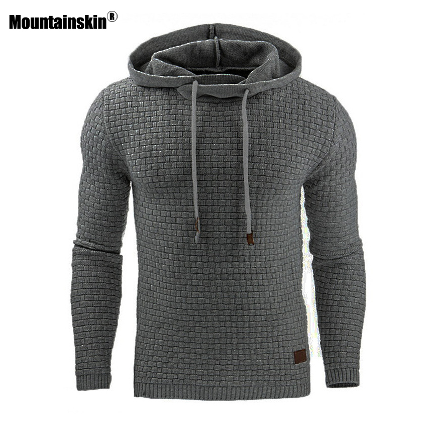 Mountainskin 5XL Hoodies Men Hoody Male Long Sleeve Solid Color Hooded Men's Sweatshirt Mens Hoodie Tracksuit Casual Coat SA437