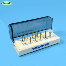 1 set Dental Porcelain Veneer System Kit for Anterior Ceramic Zirconia Crown Dentist Lab Burs FG0610D dental lab jewelry coconut shell ceramic hobby nail fill