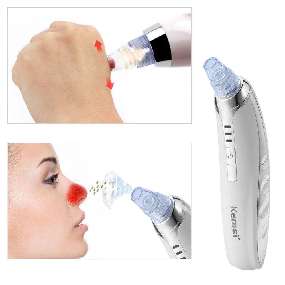 Kemei Vákuumos Fekete Távolítás Bőr Pórus Arc Tiszta Acne Spot - Bőrápolási eszközök