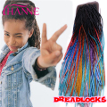 Ombre 20'' Crochet Braid Hair Synthetic Dread Lock Extensions 20 Strands Ombre Kanekalon Braiding Hair Havana Crochet Hairstyles