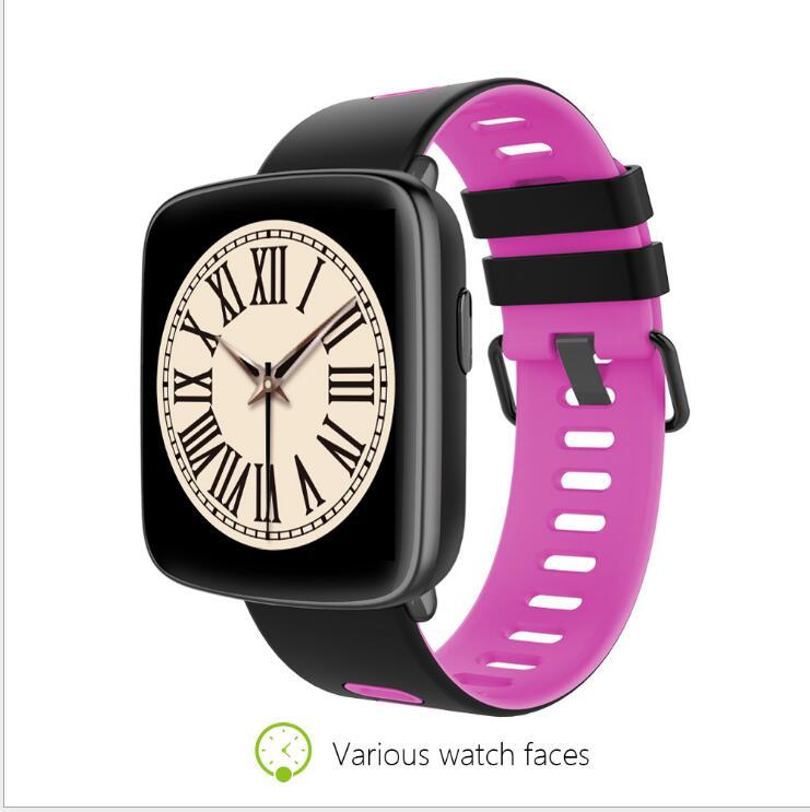 Просо великолепные iOS Смарт-часы [Гонконг запасы английская версия] <font><b>Bluetooth</b></font> 4.0 GPS Сердечного ритма 45 дней батареи IP68 водонепроницаемый