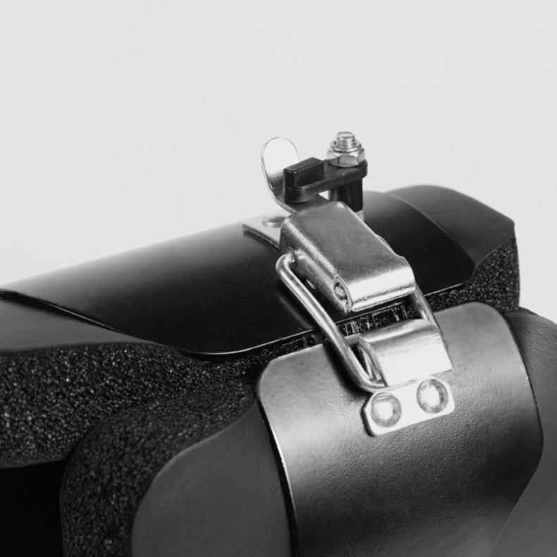 Pendaison tirer vers le haut bottes 1 paire noir Anti gravité Inversion raccrocher chaussures thérapie accrocher colonne vertébrale Ab menton Up Gym Fitness équipement - 5