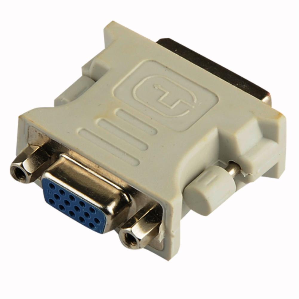 VGA Female To DVI DVI-D 18+1 Pin Single Link Male Adapter for Graphic Card Durable