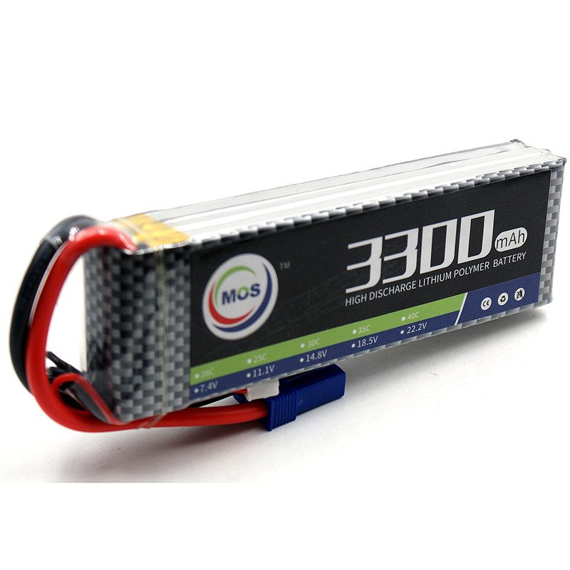 MOS 3S Rechargeable RC Lipo battery 11.1V 3300mAh 35C Li-Po Batteries For RC Airplane Drone Li-ion batteria 3S Free shipping mos 2s rc lipo battery 7 4v 2600mah 40c max 80c for rc airplane drone car batteria lithium akku free shipping