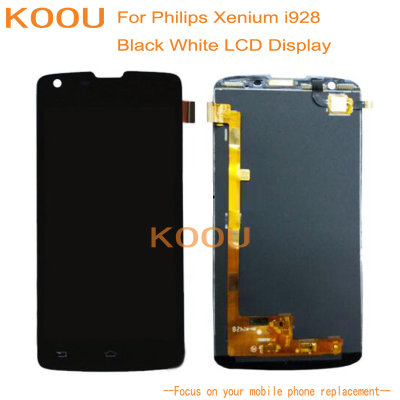 LCD Display For Philips Xenium i928 + Touch Screen Dightizer Assembly Replacement For Philips Mobile Phone Display