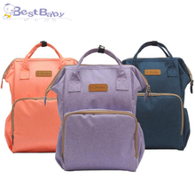 Diaper Bag Large Capacity Waterproof Nappy Bag Fashion Mummy Maternity Travel Backpack Nursing Bag for Baby Care Women Bag недорого