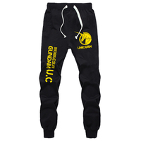 Fashion Anime Mobile Suit Gundam UNICORN UC Sweatpants Casual Hip Hop Harem Sweat Pants Silm Tracksuit Long Trousers Cosplay