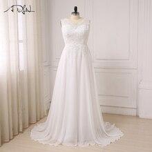ADLN Sleeve Vestido Noiva