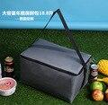 Высокое качество тепловой пикник обед кулер мешок изолированный пакет со льдом автомобиль прохладно сумка термо большой обед коробка для хранения продуктов питания мешок