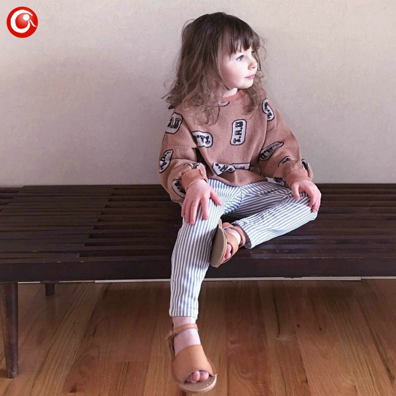 1-5y 2016 Autumn Children\'s Girls Sweater Fashion Toddler Bat Cardigan For Baby Boys Christmas Clothes Long Sleeve Outwear (1)