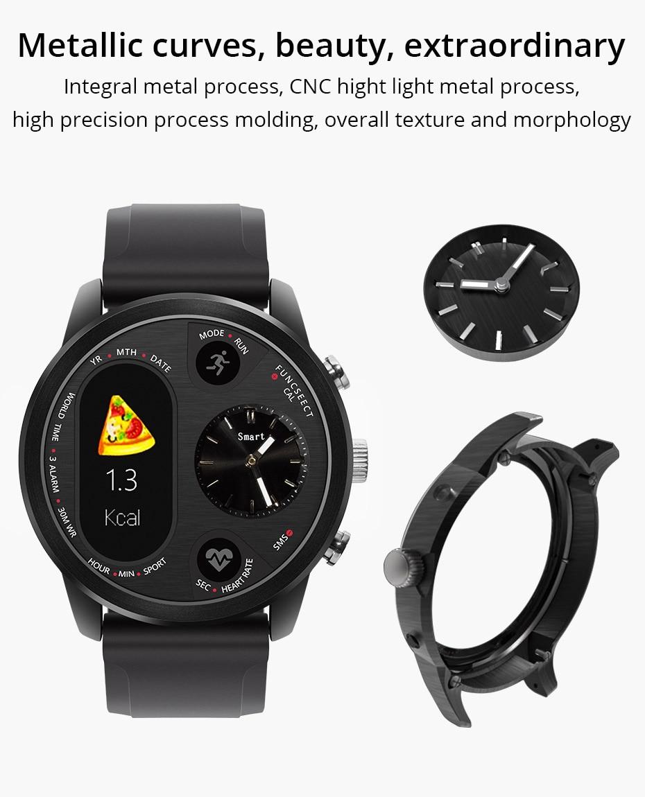 COLMI T3 Sport Hybrid Smart watch Stainless Steel Fitness Activity Tracker IP68 Waterproof Standby 15 Days BRIM Smartwatch 3