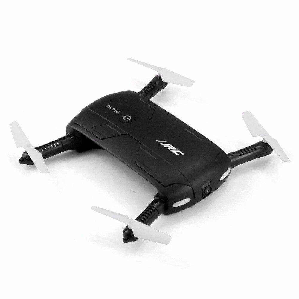 JJRC H37 Elfie Gyro WIFI FPV Quadcopter Drone Selfie plegable Mini Drones con cámara HD RC Dron helicópteros VS JJRC h36 H31 E50