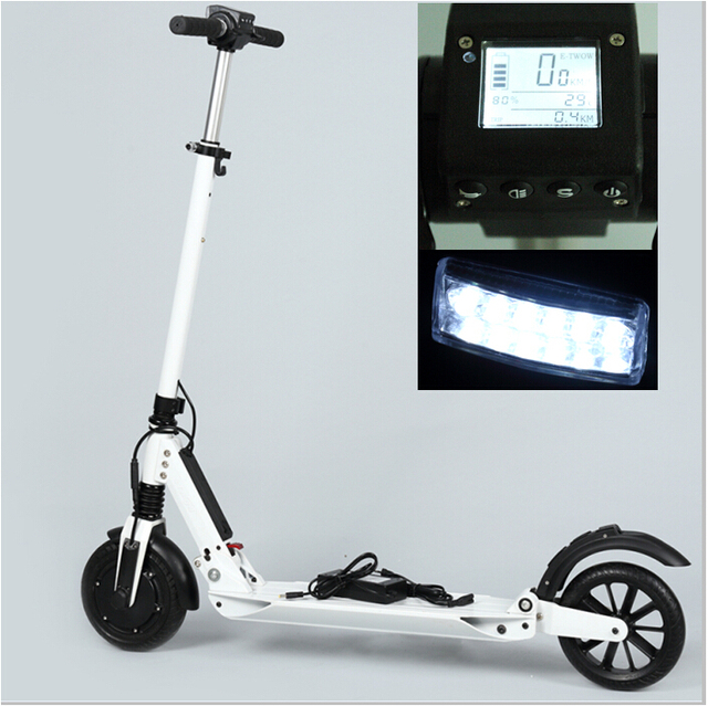 e twow etwow s2 booster folding portable electric scooter. Black Bedroom Furniture Sets. Home Design Ideas
