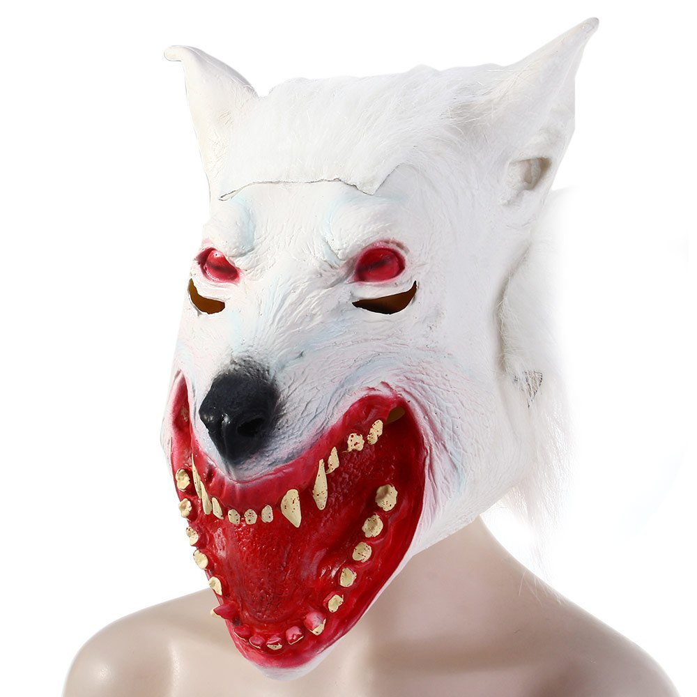 Popular White Wolf Mask-Buy Cheap White Wolf Mask lots from China ...