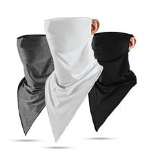 New Motorcycle Face Mask Summer Ice Fabric Bandana Sport Scarf Breathable Riding Bike Scarves Running Headband