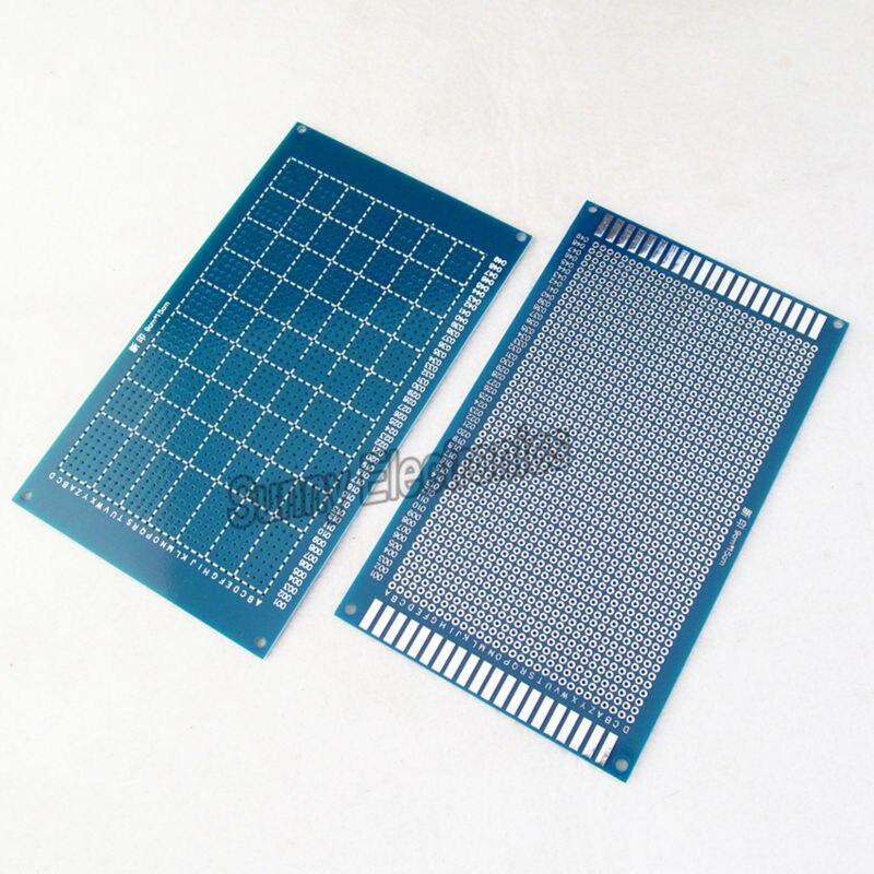 2xHigh quality Single side Protoboard 9x15cm PCB Universal Experiment Matrix Circuit Board