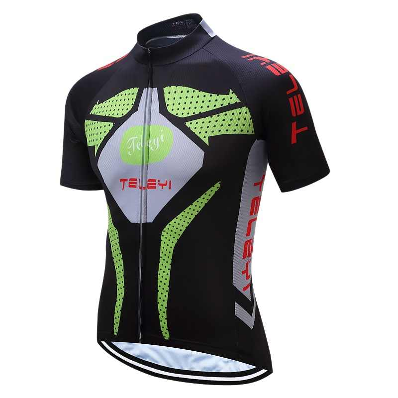 ... TELEYI Pro Cycling Jersey Racing Sport USA Bicycle Cycling Clothing  Short mtb Bike Jersey Breathable Quick ... 97694c507
