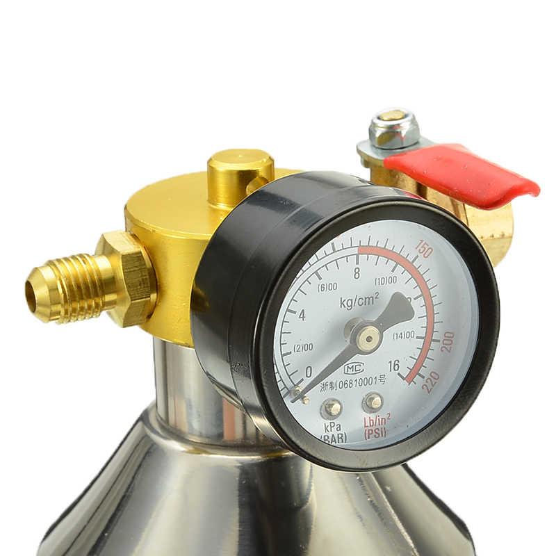 1 Набор, автомобильный для труб кондиционера инструмент для очистки A/C Flush канистра Наборы бутылка для R134a R12 R22 R410a R404a