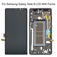 New 6.3 For SAMSUNG Galaxy NOTE8 LCD N950 N950F LCD Display Touch Screen Digitizer Assambly Replacement Parts+Frame