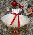 Ropa de bebé niñas vestidos de bautizo para el primer cumpleaños de la princesa party girl dress kidsclothes bebé recién nacido ropa infantil