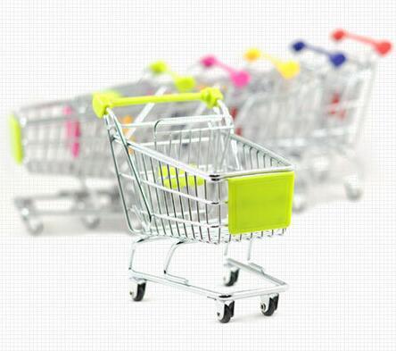 Nesenie lielveikalu iepirkšanās mini ratiņi tālruņa turētāji - Mājas uzglabāšana un organizēšana